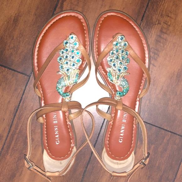 5006815abe1 Gianni Bini Shoes - Gianni Bini Peacock Sandals
